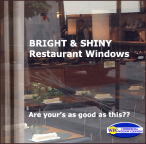 wfc commercial restaurant window cleaning
