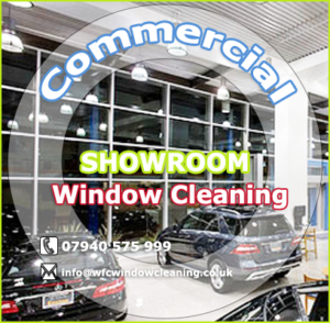 Commercial Car Showroom Window Cleaning