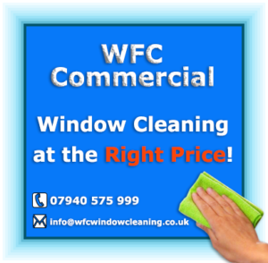 Commercial window Cleaning at the RIGHT PRICE