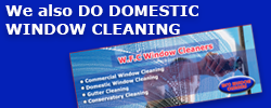 Also do Domestic Window Cleaning