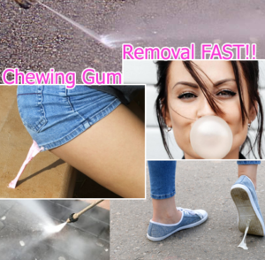 CHEWING GUM REMOVAL FAST