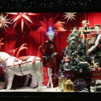 Christmas Window scenes 12