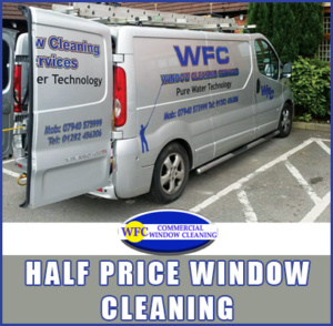 Half Price Window Cleaning Today
