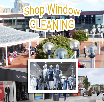 SHOP FRONT WINDOW CLEANING BURNLEY, LANCASHIRE