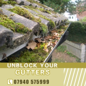 UNLOCK YOUR GUTTERS